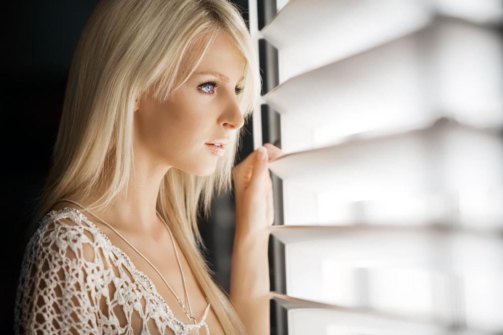 Woman Spying On Criminals In Neighborhood