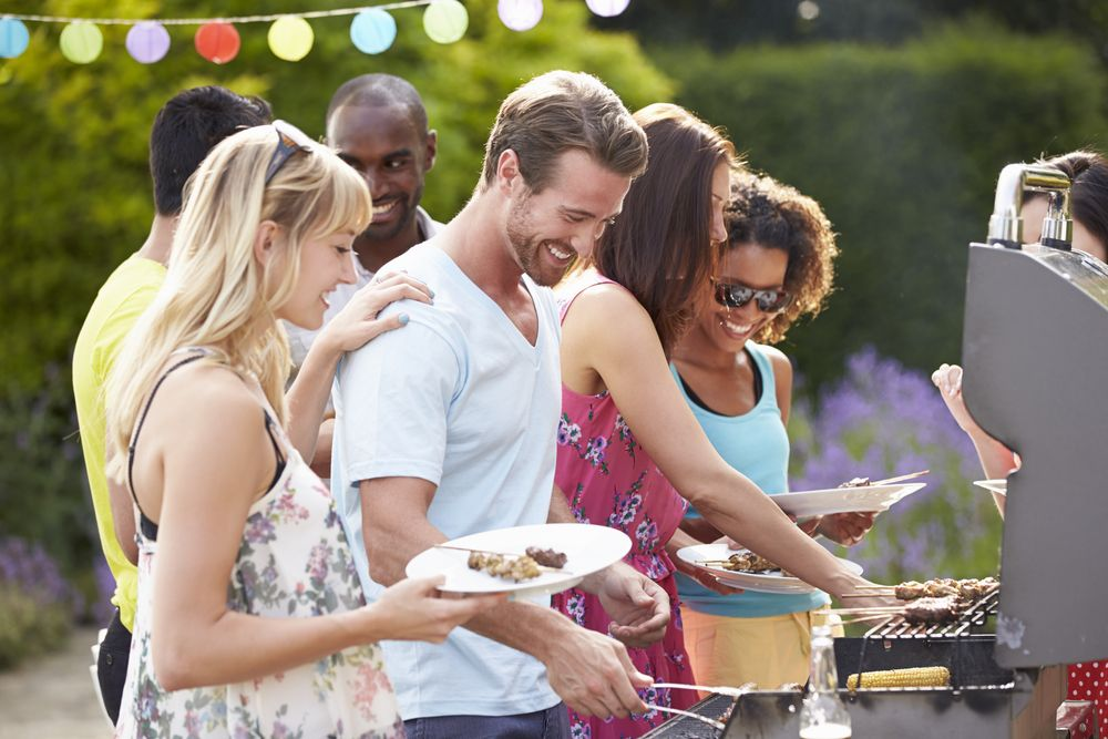 Bakyard BBQ With Neighbors