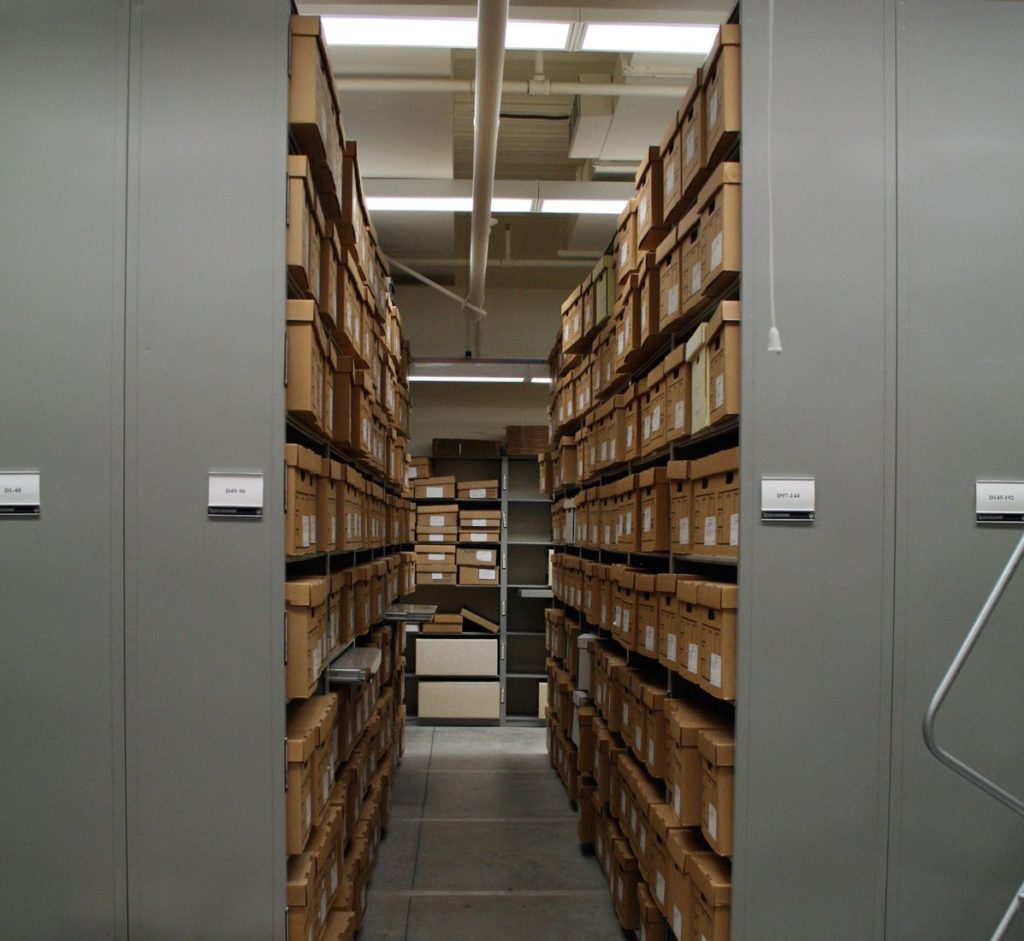 Public Record Archive Storage