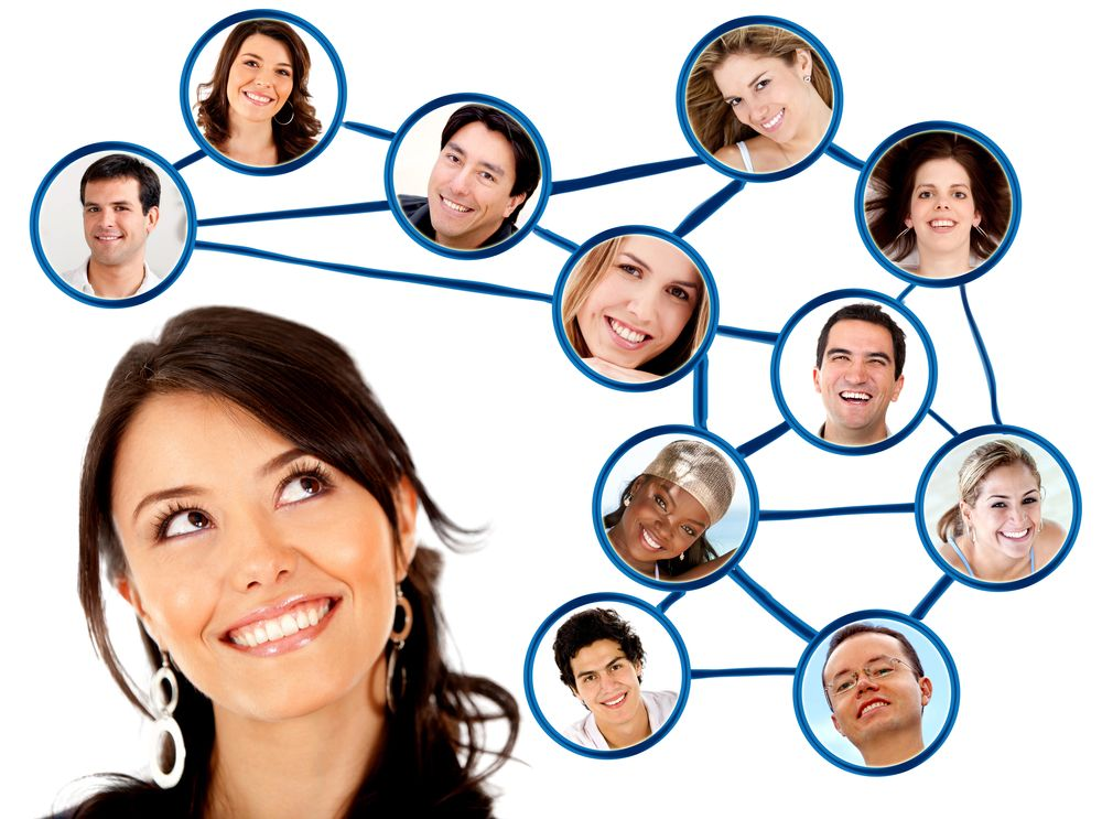 Checking Social Media Contacts